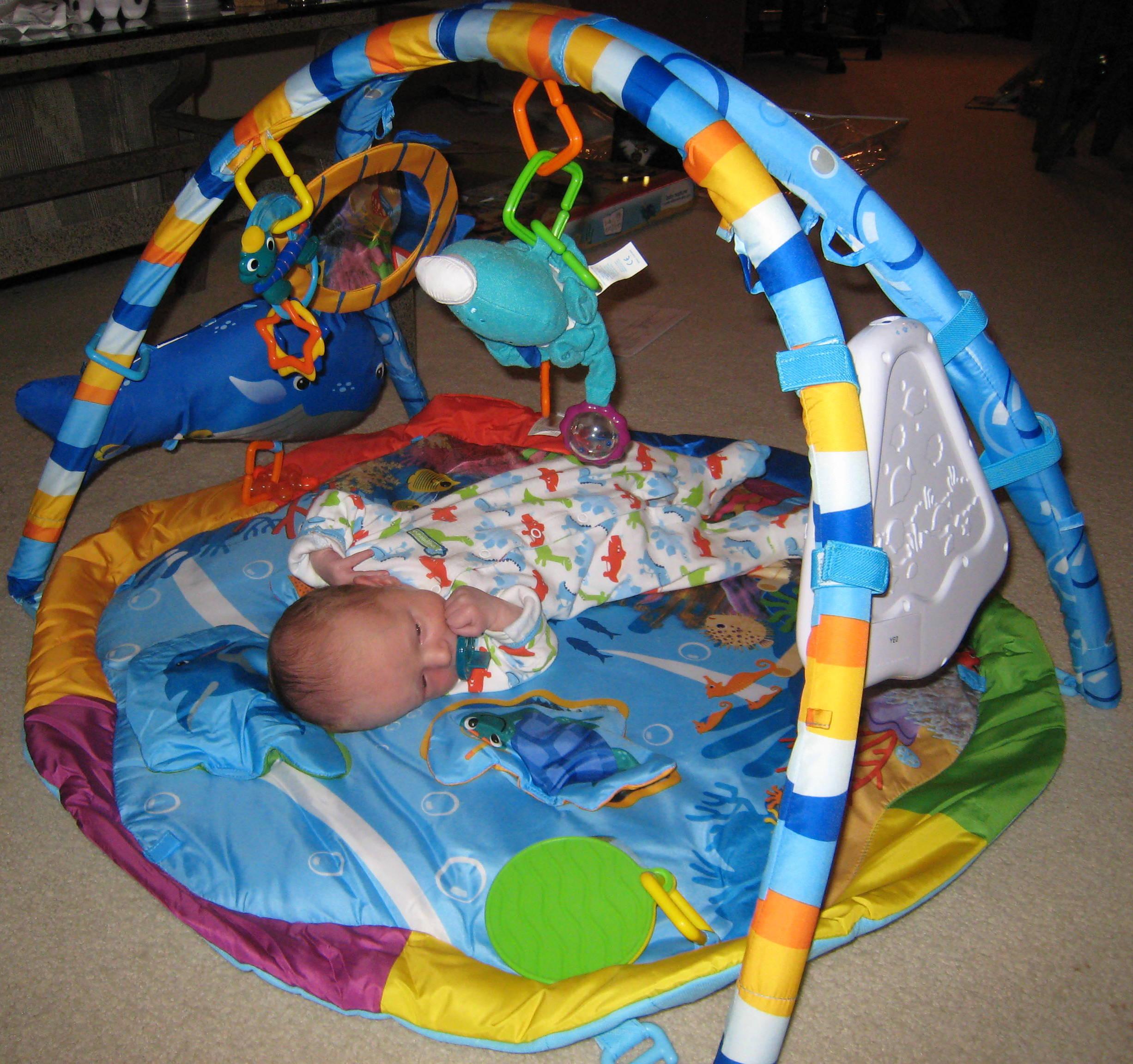 ec96b6334 Baby Einstein Baby Neptune Ocean Adventure Gym