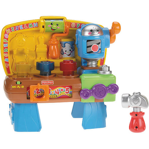 Toys For Work : Fisher price laugh learn learning workbench