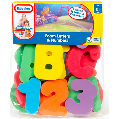 little tikes bath time foam letters and numbers With little tikes foam letters and numbers