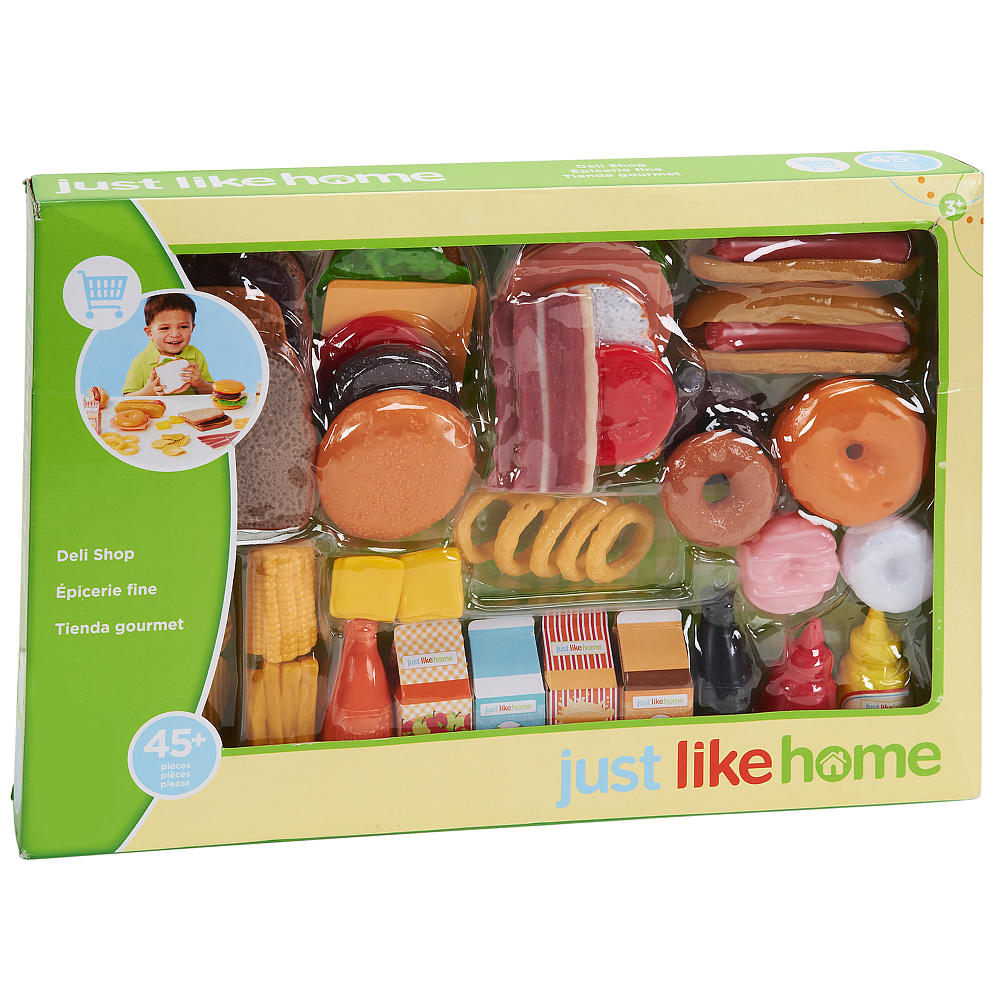 Just Like Home Toy Food : Just like home deli shop set tylerstoyreviews
